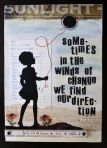 Sometimes in winds…. find our direction