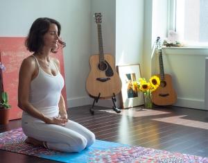 guitar yoga