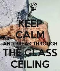 keep calm and glass ceiling