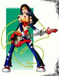 rock and roll wonder woman